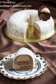 "Торт ""Cappucino"" от Valrhona: eastflower"