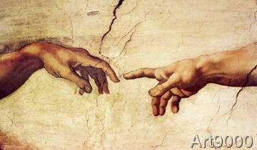 Michelangelo - Die Erschaffung Adams