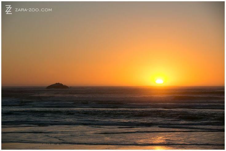 Sunset photo at Strandkombuis in Yzerfontein, Cape Town. ZaraZoo Photography