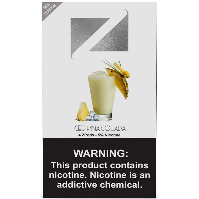 ZiiP Pods For Juul Iced Pina Colada | PODS | Pina colada, Ice