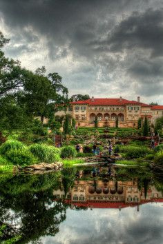 Philbrook Museum of Art. Amazing gardens and art in Tulsa, Oklahoma.