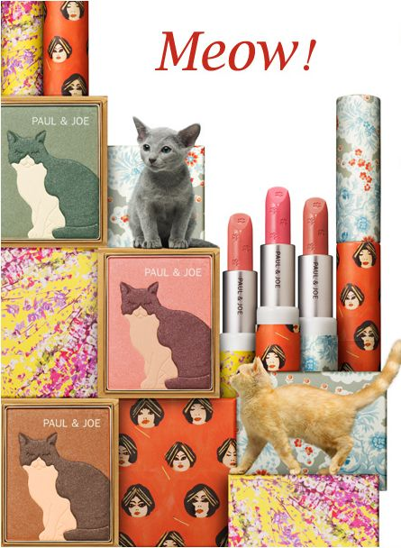 Cat shaped eye shadow. Excellent!: Crazy Cats, Kitty Cats, Spring Makeup, Makeup Collection, Spring Collection, Cats Makeup, Paul Joe, Cats Lovers, Cats Lady