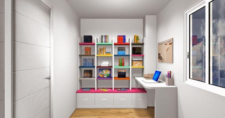 93 best proyectos de decoracion images on pinterest - Diseno de habitaciones juveniles ...
