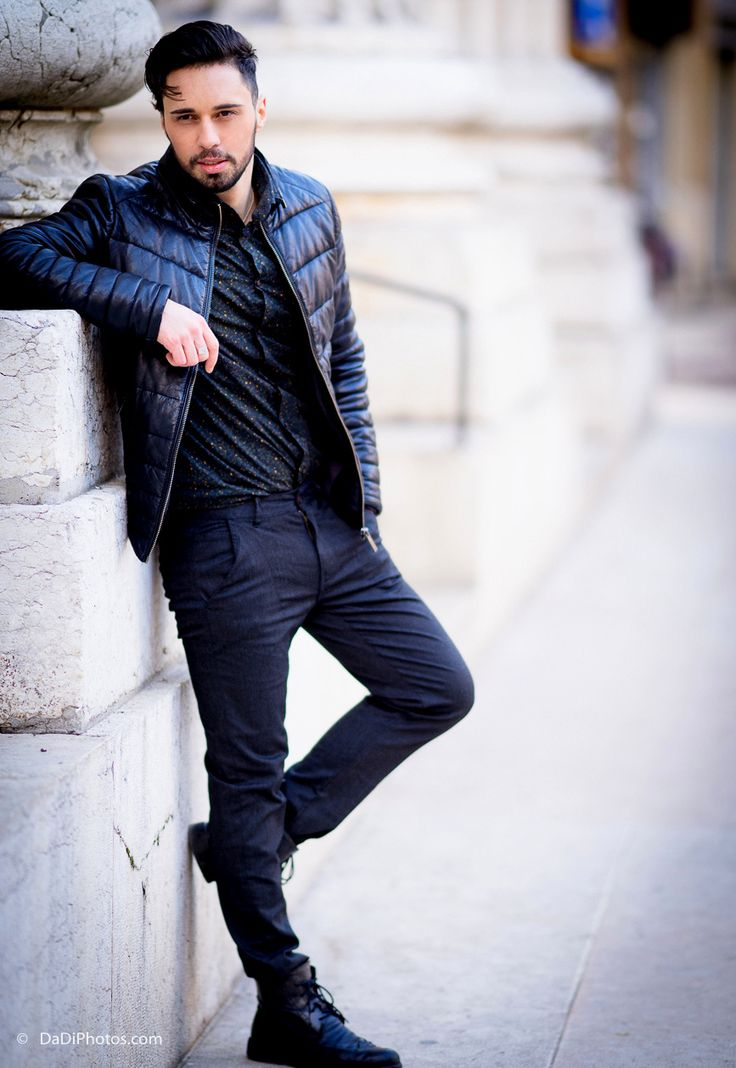 Men street style fashion - the beard spring classy hipster look - check the blog male fashion street style #men #cool #fashion #malemodel #swag #model #style #beard #spring #edgy #urban #classy #streetstyle street