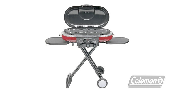 Coleman Grill | Going camping, to the park or cottage this long weekend? The portable grill sets up and tears down in seconds for quick, on-the-go meals. #airmiles #longweekend