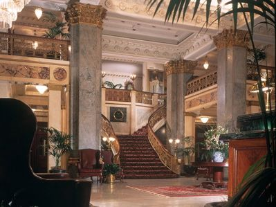 The Seelbach in Louisville--We spent our honeymoon here. It's beautiful. I also love that F. Scott Fitzgerald took inspiration from it for the hotel in The Great Gatsby. (The English teacher in me may or may not have decided to spend my honeymoon there for that reason.