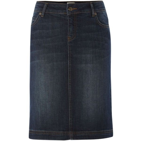 91 best Denim skirts images on Pinterest