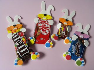 conejos de pascua: Candy Buquets, Inspiration, Gifts Ideas, I Must Try, Rabbits, Easter, Ideas Para, Rabbit