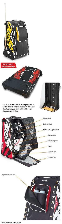 Equipment Bags 58113: Grit Inc. Htse Hockey Tower 33-Inch Boston Bruins Hockey Bag Htse-33-Bo BUY IT NOW ONLY: $159.84