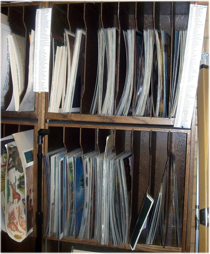 Comprehensive picture indexes of large pictures and manual pictures used in Church.  Management and upgrading of library/material center's supplies.  Making a library bi-lingual.