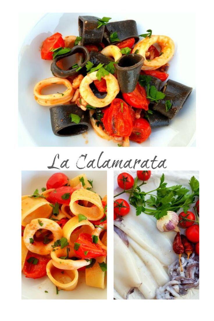 La Calamarata From Campania The Pasta Project Recipe Italian Seafood Recipes Italian Recipes Best Dinner Recipes