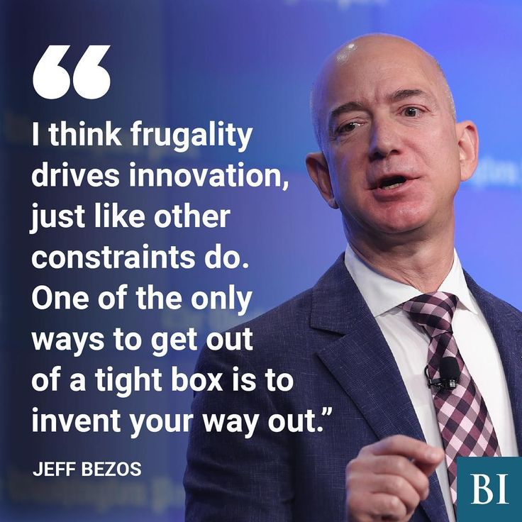 Jeff Bezos, founder and CEO of Amazon, is one of the most powerful figures in tech, with a net worth of roughly $57 billion. His work ethic and frugal company culture have not only proven to be extraordinarily successful, but also inspirational for many entrepreneurs around the world. 🖌:@bi_graphics  #JeffBezos #Amazon #tech #billionaires #inspirational #inspiration #entrepreneurs #quotes #businesstips #money #motivation #motivationtuesday
