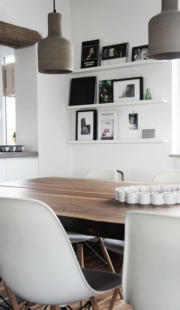 salle à manger living contemporain