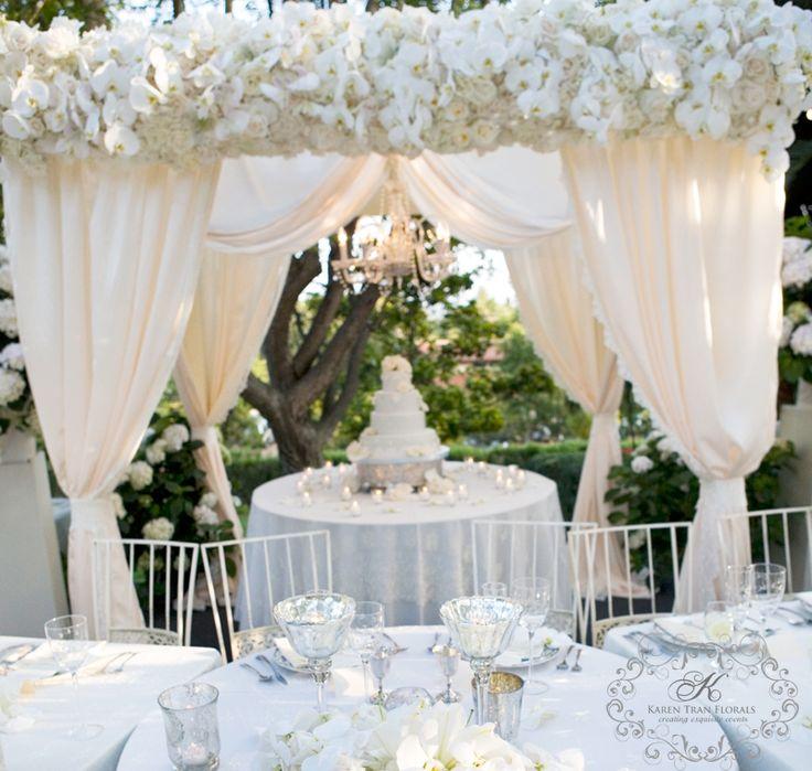 wedding table setting details