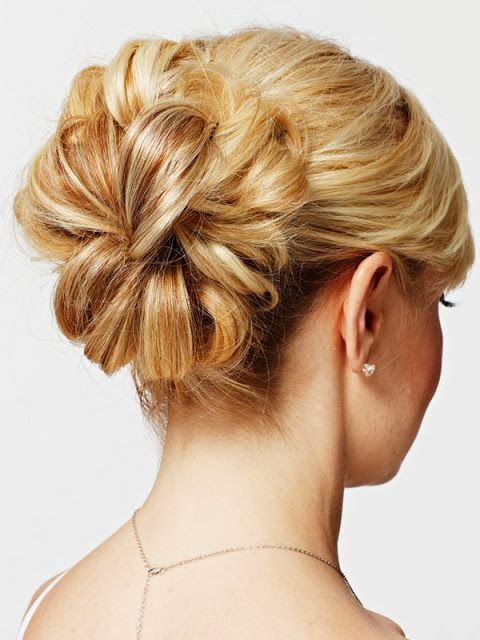 Give yourself a sexy updo for your wedding or special occasion using these simple steps!