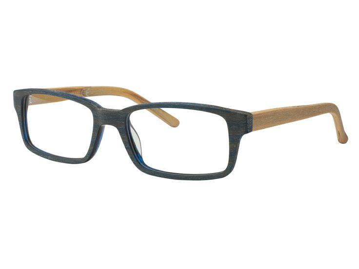 occhiale bi-colore dal look legno, coniuga l'eleganza alla praticità. #eyewear #woodeyewear