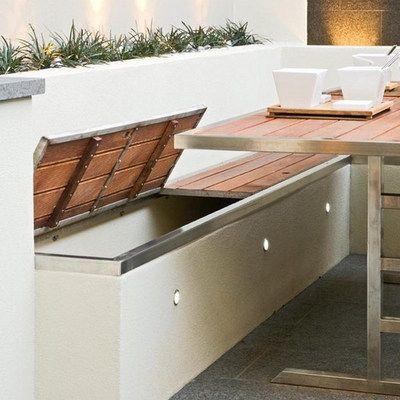 M s de 1000 ideas sobre asientos de banco de cocina en - Asiento con almacenaje ...