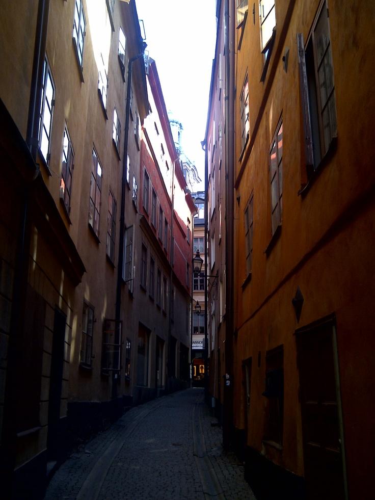 Stockholm... old city street