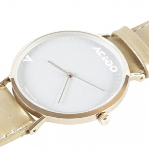 Stainless steel case in Rose Gold Case: Ultra-thin case, 40mm, Glass: Reinforced mineral glass Water resistance :up to 3 ATM Movement: Japanese movement Ronda 763 Straps material: Genuine leather Straps width: 20mm Warranty: 12 month Springbar remover: Free