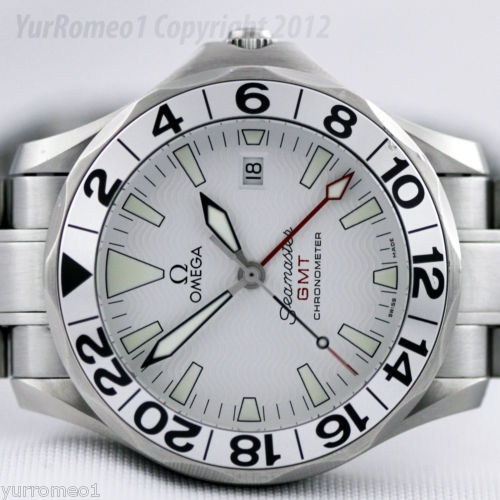"Omega Seamaster Professional Automatic GMT aka ""Great White"""