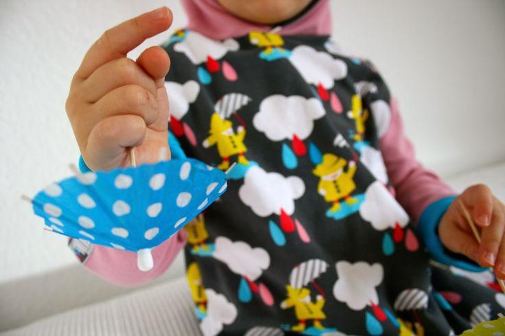 lillestoff enemenemeins dancing in the rain drops fabric euroknit ilovesewing sewing for kids