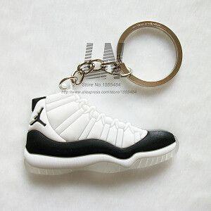 Jordan 11 Keychain, Sneaker Key Chain Key Ring Key Holder for Woman and Girl Gifts Porte Clef Anillas Llavero