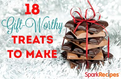 18 Gift-Worthy Treats You Can Make | via @SparkPeople #food #holiday #treat #recipe