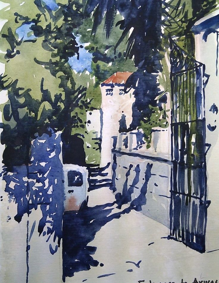 34 best images about watercolor oct 2014 on pinterest terrace watercolour and winter scenes - Eternity gran canaria ...