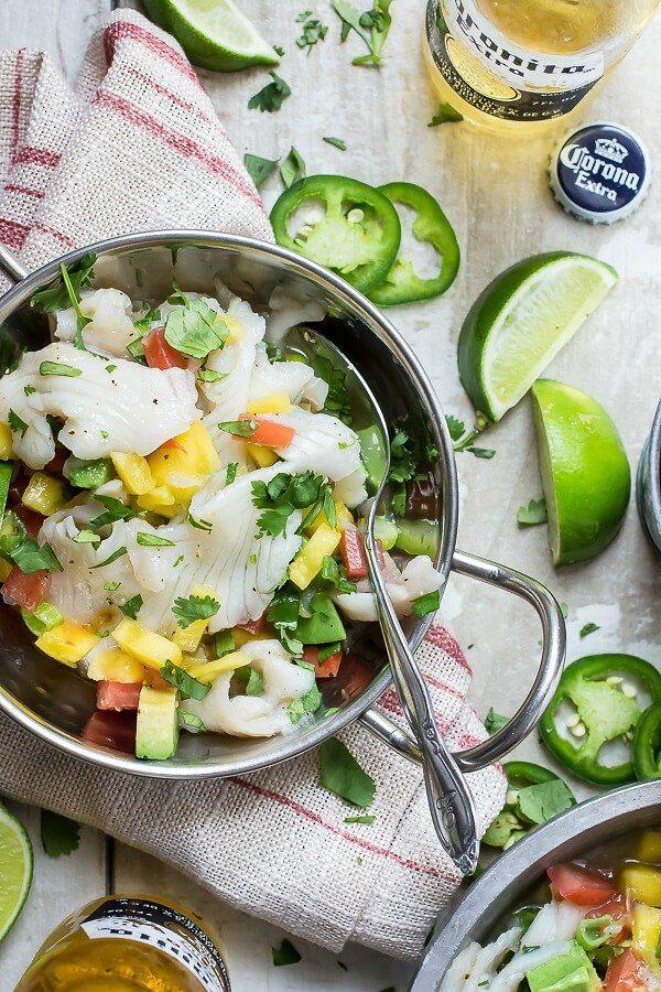 Mango and Jalapeno Ceviche | Recipe | Cilantro, Ceviche and Mango
