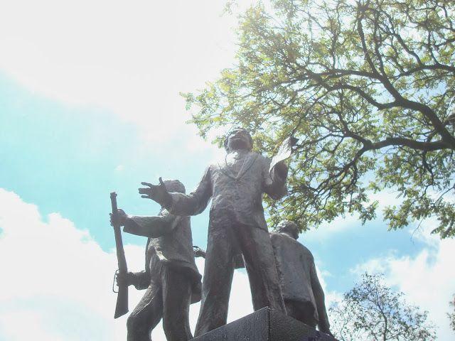 sancarlosfortin: hermanos flores magon en parque revolucion en guad...