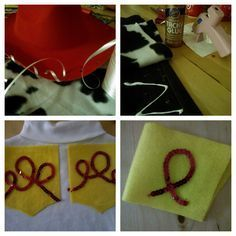 No Sew Jessie (from Toy Story) Costume for Halloween! Yee Haw! - The Pinky Project