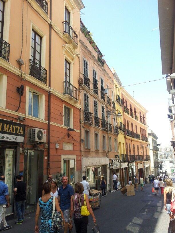 Via Manno - Cagliari - Sardinia - Italy
