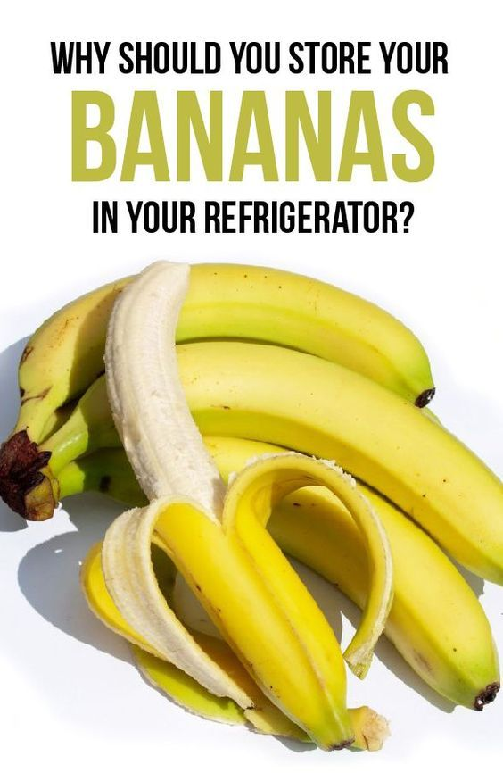 why should you store your bananas in the fridge diy. Black Bedroom Furniture Sets. Home Design Ideas