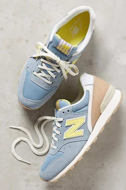 These pastel New Balance trainers that are begging to be worn with white jeans. | 30 Insanely Stylish Sneakers You Can Wear With Every Outfit