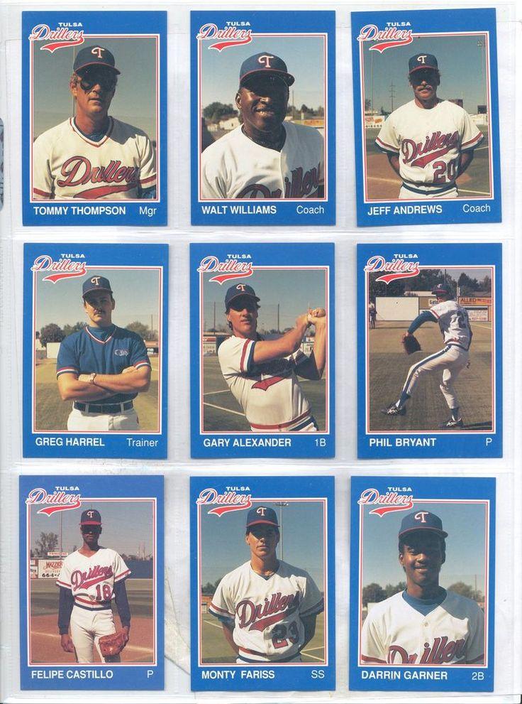 1989 Tulsa Drillers Walt Williams Brownwood Texas TX Baseball Card #TexasRangers