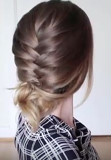Updo Tutorial for Long Hair: The 3 Minute Braided Updo Hairstyle Tutorial