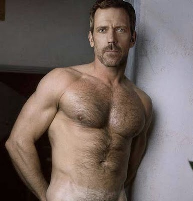 Hugh Laurie. I used to be above looking at naked celebrities on the internet. Luckily, I got over that.