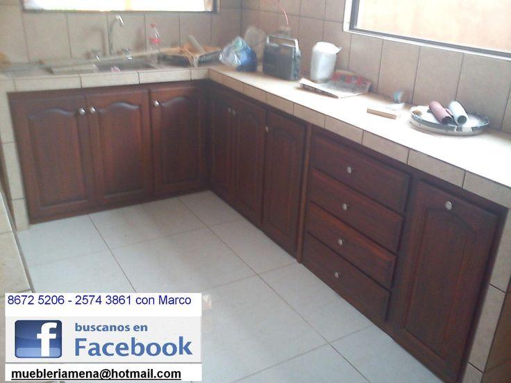 Muebles de cocina en madera paraiso cartago cosina for Muebles de cocina zamora