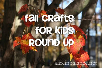 autumn equinox: fall crafts with kids round up | A Life in Balance