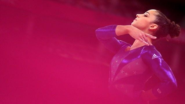Alexandra Raisman Gymnastics USA Team  Beautiful Pic