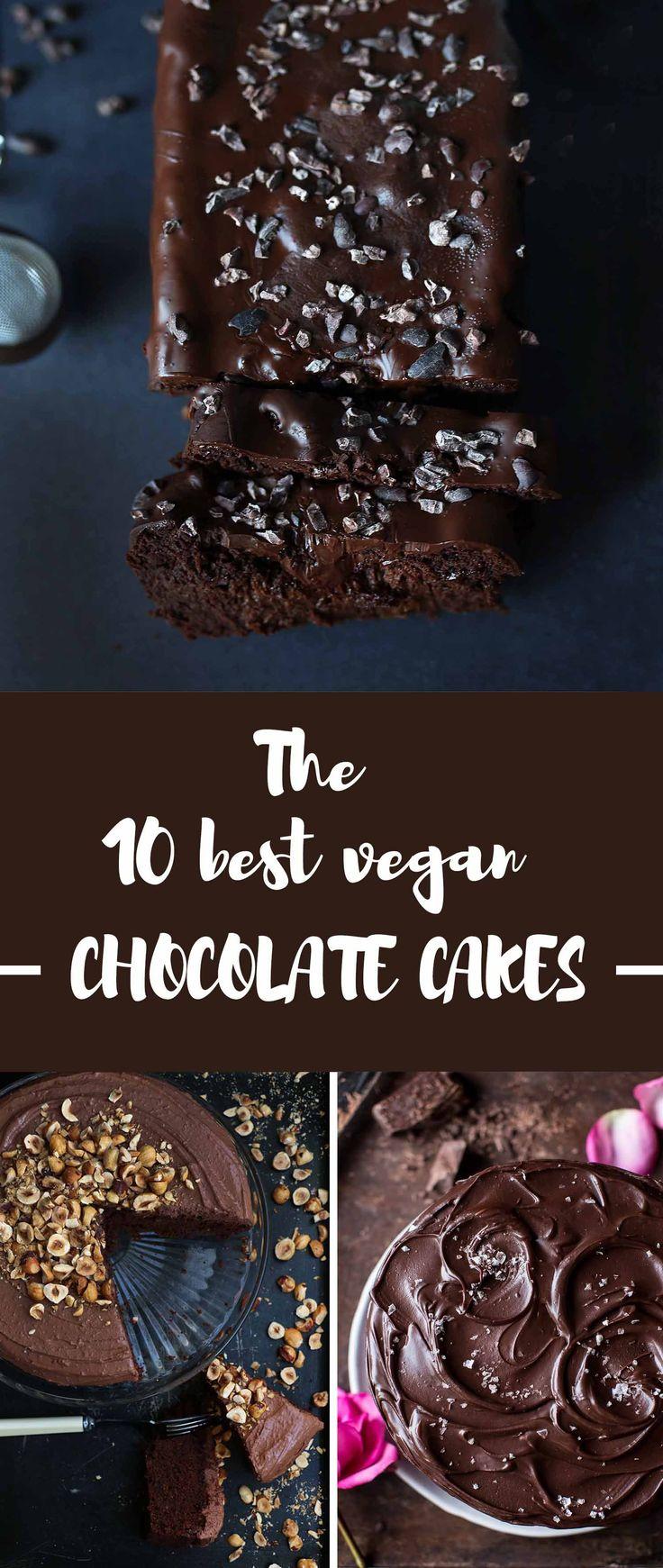 The 10 best vegan chocolate cakes