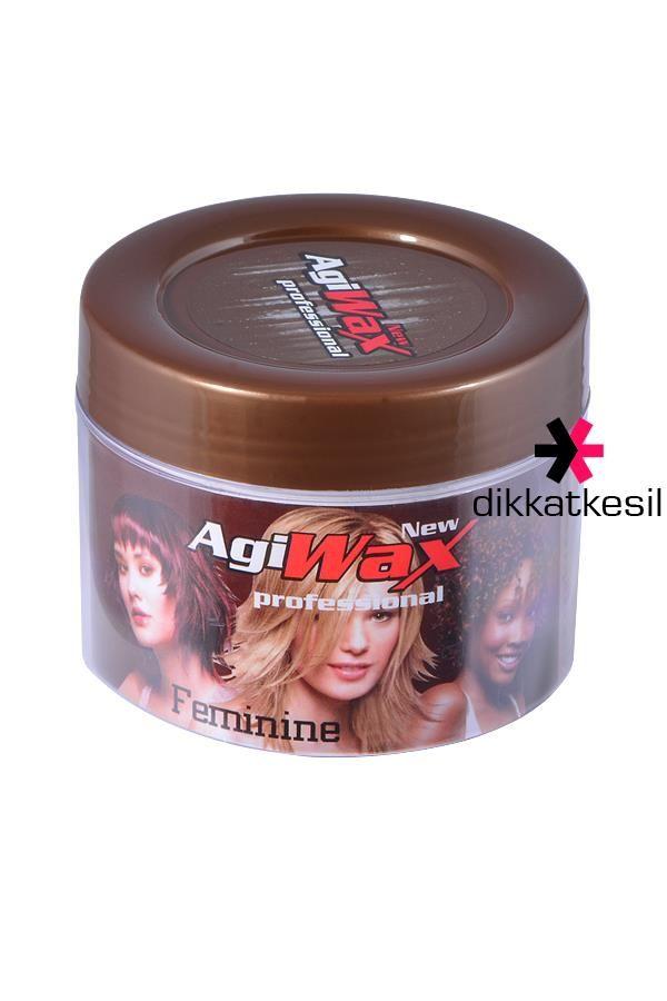 Agiwax Saç Şekillendirici Feminine Wax 100ml http://www.dikkatkesil.com/kozmetik-urunleri