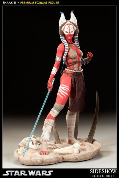 Premium Format Figure : Shaak Ti de Star Wars - so cool! I've always loved Shaak Ti