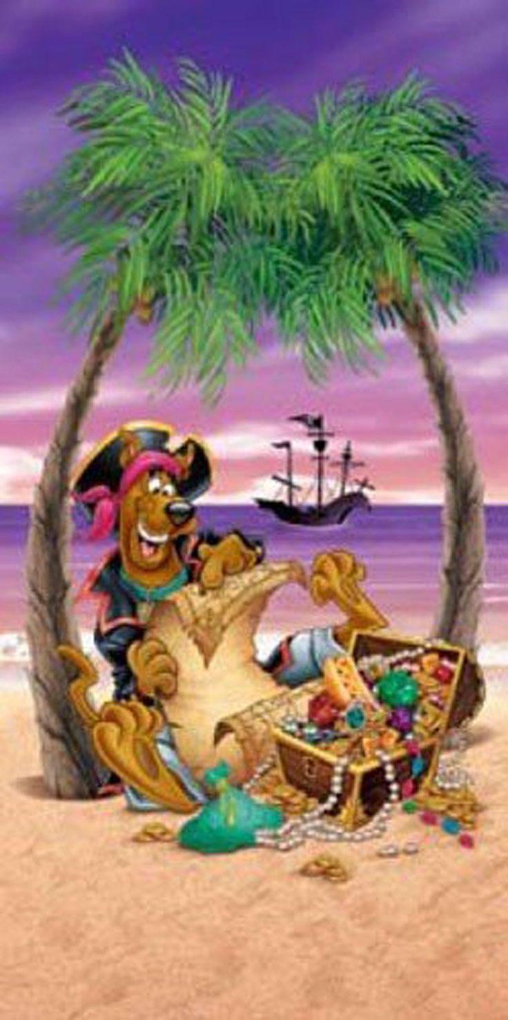 Amazon.com - Scooby-Doo Pirate Beach Towel - Beach Towels Clearance