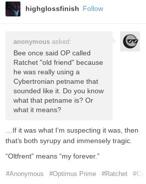 *Chokes* W-What??? When did Bee say that?!<<<If that's Ratchet, then what's Megatron?