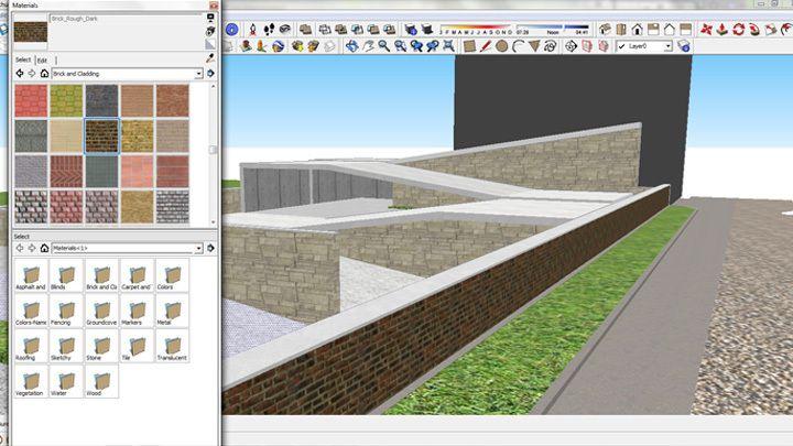 Como usar texturas de alta resolução no SketchUp   bim.bon