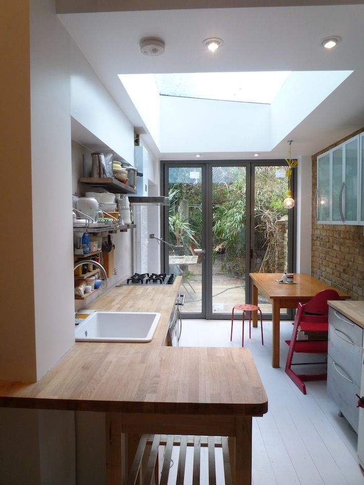 victorian terrace kitchen extension - Google Search