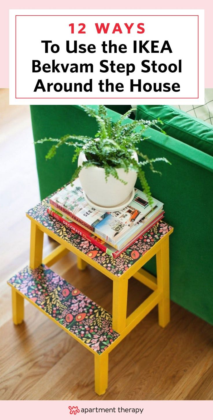 The biggest benefit to buying IKEA isn't to your wallet, it's to your creativity. The fact that IKEA stocks so many affordable lines means that you can feel free to hack, adapt and remix the different pieces to suit your needs. Here are the best IKEA hack http://mrspals.com/?page_id=171