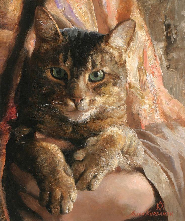 Portrait detail By Arsen Kurbanov (b.1969)
