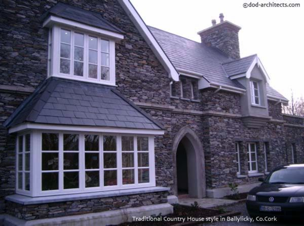 Example of stone dwelling detailing in Co. Cork  Ireland. House design: dod architects